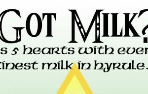Got Milk? Listen up Hylians! Introducing Lon Lon Milk
