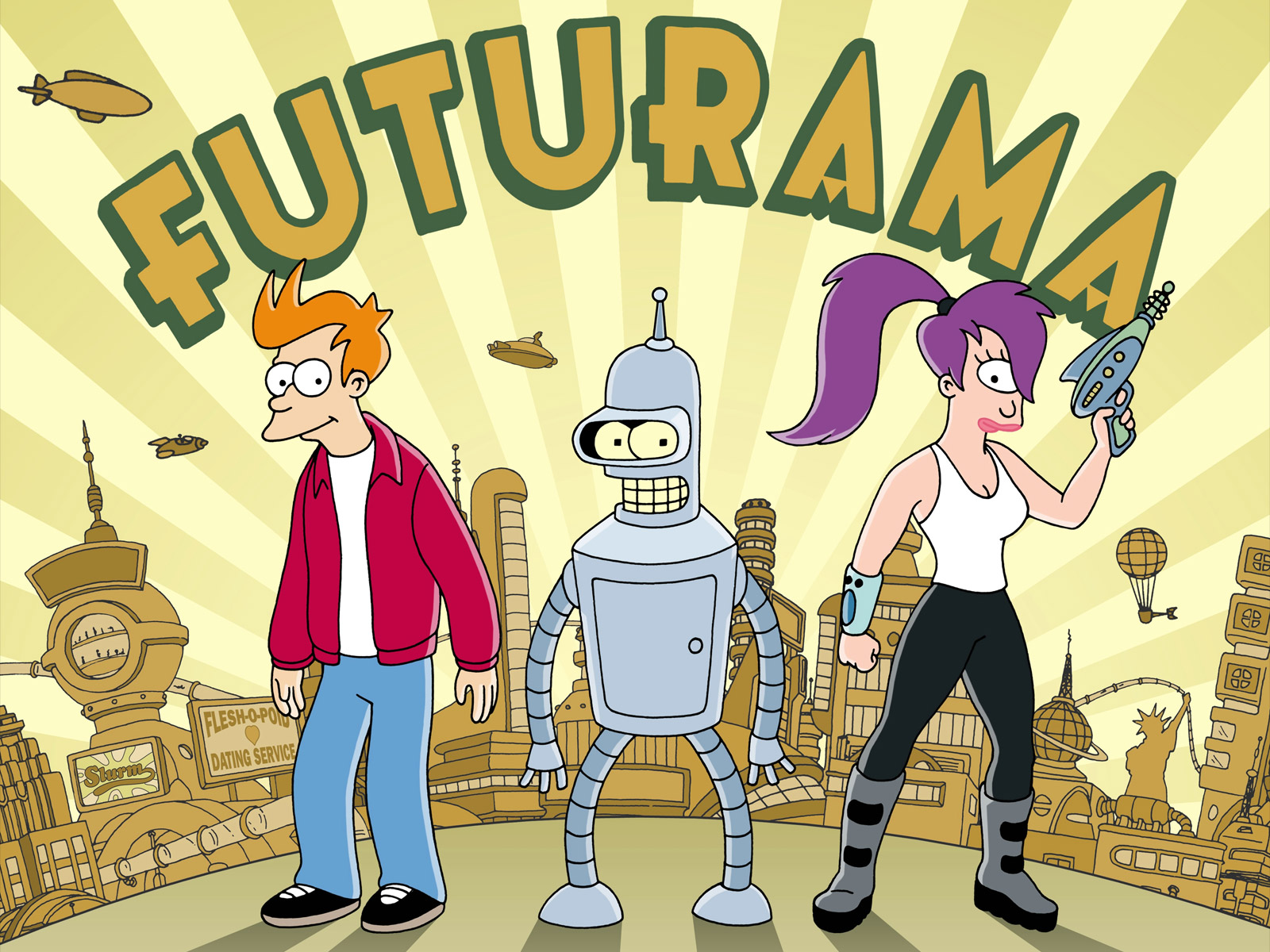 futurama cancled