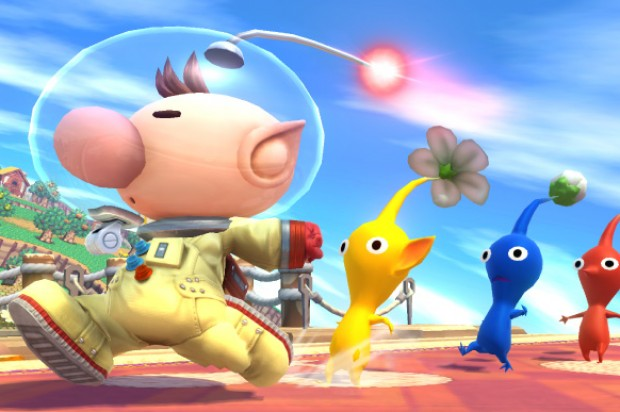 Captain Olimar Joins Super Smash Brothers.