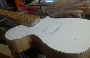 Mini Guitar Project Part 1
